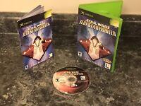 STARWARS JEDI STARFIGHTER: ORIGINAL MICROSOFT XBOX MINT CONDITION CIB VIDEO GAME