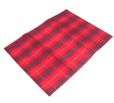 Red/Green Tartan Christmas  Placemats pack of 2