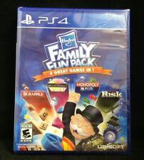Hasbro Family Fun Pack (Sony PlayStation 4, 2015) Brand New / Region Free