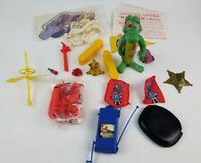 Vintage Junk Drawer Toy Lot Comic Strip Albert Alligator Magic Cereal Premiums