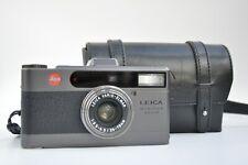 Leica Minilux Zoom *Bogner version*. RARE (with original bag)