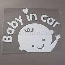 Hot Baby In Car Waving Hand Safety Sign Car Auto Vinyl Reflective Decal Sticker