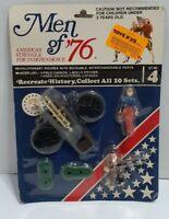 Vintage Men Of '76 Revolutionary Figures NOS New Sealed Moveable Parts Set No. 4