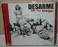 CD - DESARME: Es Tu Error (great punk from Peru !)