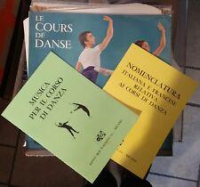 Michel De Faria – Musique Pour Le Cours De Dance Lp + 2 libri in italiano