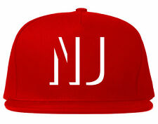 Kings Of NY Initials New Jersey USA State NJ Snapback Hat