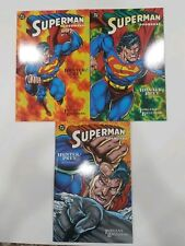 Superman Doomsday - HUNTER/PREY Books 1-3 - Graphic Novels TPB - DC