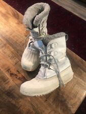 Sorel Manitou Insulated Waterproof Boots Women's Size 5-5.5