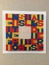 ALIGHIERO BOETTI, Private view invitation card, Ben Brown gallery, London, 2016