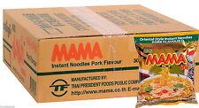 30 Instant Mama Noodles - Pork Flavour 60g (R015x30) UK Seller