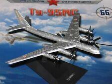 1:350 Tupolew Tu-95 MS Soviet Airplane Bomber Die Cast model 66 DeAgostini