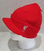Liverpool Official Peaked Style Bronx Hat - Red - Great Gift Idea!