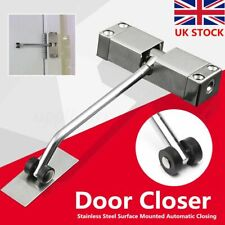Surface Mounted Automatic Door Gate Closer Spring Loaded Adjustable Fire Rated