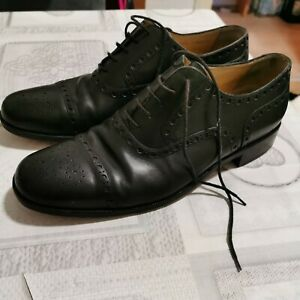 Bally Herren Schuhe Business Hochwertige Leder Gr.  (10) 43,5