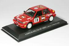 LANCIA DELTA HF 4WD  N°18 DU RALLYE DU PORTUGAL DE 1988