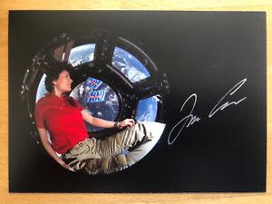 Samantha Cristoforetti AK Raumfahrer Autogrammkarte original handsigniert