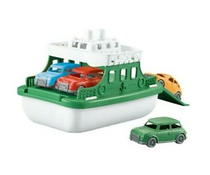 Kids Storage Ship & Parking Lot 2in1 Set Fun Carry Ship With 4pc Cars XMAS UK