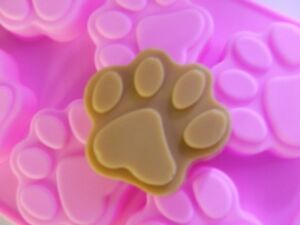 Paw Print Silicone Soap Mould / Mold**Soapmaking**