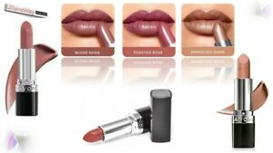 3x Avon True Colour Lipsticks~THE NUDES~COMES WITH A FREE ORGANZA GIFT BAG