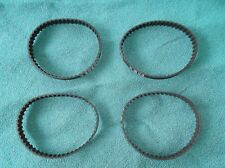 4 NEW DRIVE BELTS REPLACES SEARS ROEBUCK CRAFTSMAN OR90109 SHARPENER BELTS