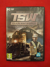 PC COMPUTER TRAIN SIM WORLD CSX HEAVY HOUL DOVETAIL GAMS TSW SIMULATOR ITA