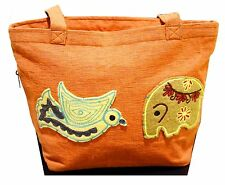 New Amazing Handmade Women Purse Shoulder Bag Cotton Embroidery Fashion Zippered