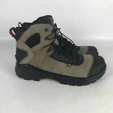 Red Wing CRV 6 Inch Leather EH Safety Toe Work Boots Men's Size 11 Beige 4426