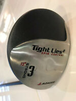 Adams Tight Lies 2 - Spin Control - Strong 3 Wood 13*/ RH / FIRM Graphite