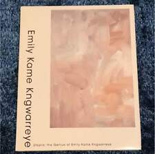 Emily Kame Kngwarreye 2008 Japan Exhibition catalog Utopia USED