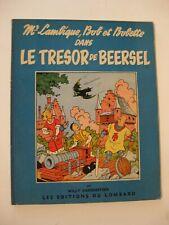 Bob et Bobette Le trésor de Beersel Vandersteen Ed. du Lombard EO 1956 TBE