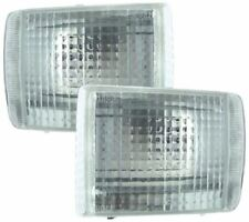 FORD ESCORT 5 COSWORTH SIERRA COSWORTH CLEAR FRONT INDICATOR LIGHTS - DEPO PAIR