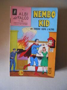 NEMBO KID - Albi del Falco n°386 1963 con Figurine   ed. Mondadori [G538]