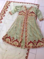 Bollywood Indian Sari Klei Kostüm Shalwar Qameez Kurta Panjabi Mit Stick.Gr. S