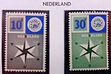 2 X Timbre Stamp Pays Bas Nederland 1957 YT 678 679 EUROPA CEPT Neufs