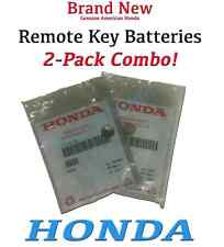 Genuine OEM Honda Remote Key Battery -  2 Pack (72148-S0A-000 x 2)