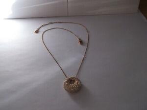 Genuine SWAROVSKI Crystal STONE Pendant Necklace - GP