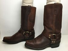 VTG MENS DURANGO HARNESS MOTORCYCLE BROWN BOOTS SIZE 8 D