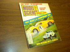MODEL CAR SCIENCE magazine MAY 1968 slot cars model kits Monogram matchbox