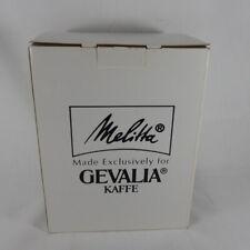 New Melitta Gevalia Kaffe BCM-4C 1-4 Cup Coffee Maker