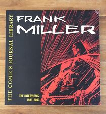 More details for the comics journal library volume 2 frank miller, the interviews