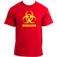 Biohazard Sign T-Shirt I Warning Danger Hazardous Logo Toxic Warning T Shirt