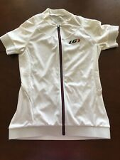 Louis Garneau Full Zip Cycling Jersey White XS TS9