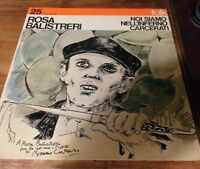 LP 33 Rosa Balistreri Noi Siamo Nell'Inferno Carcerati folk Cetra LPP 242 1974