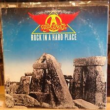 [ROCK]~EXC/VG+ LP~AEROSMITH~Rock In A Hard Place~{1982~CBS~Issue]`