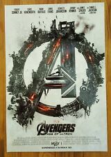 THE AVENGERS 2: AGE OF ULTRON MARVEL Exclusive IMAX Mini Poster-Captain America