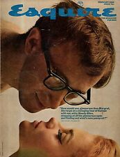 1966 Esquire February-Woody Allen,Ann-Margaret; Gay Talese; Magritte Art; Brando