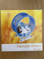 Job Lot Electronic Running Hamster and Wheel Toy