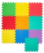Spielmatte 10tlg Spielteppich Puzzlematte Kinderteppich Matte Schutzmatte NEU
