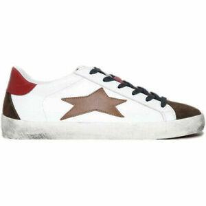 Scarpe sneakers uomo sportivo ishikawa-LOW /1685 bianca primavera/Estate