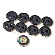 Black Round Micro Speaker Loudspeaker 28mm 8Ohm 8R 1W DIY Arduino Repair